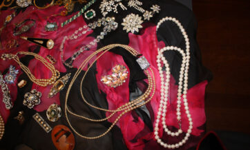 Special jewelry and trinkets worn to the dances