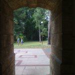 Green views through Winthrop Gate