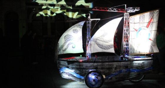 Shipshape made its debut at Port Inhabited