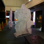 Sculptures arrive