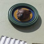 Wombat head at the NFSA courtyard
