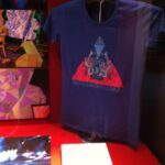 T-shirt on display