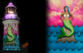 Lighthearted Mermaid