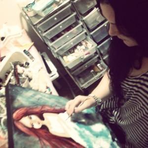 NLI Artist Sarah Donnell