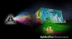 Night Mural Picnic
