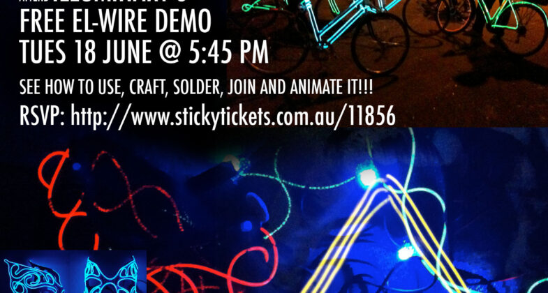 illuminart® » Illuminart\'s EL-WIRE DEMO: for bike art and costumery ...