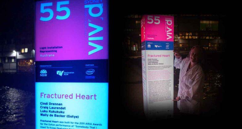 Signage at VIVID 2012
