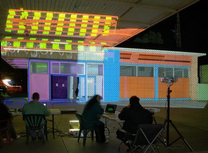 Cindi Drennan ~ illuminart ~Projection Mapping Workshop Masterclass Renmark