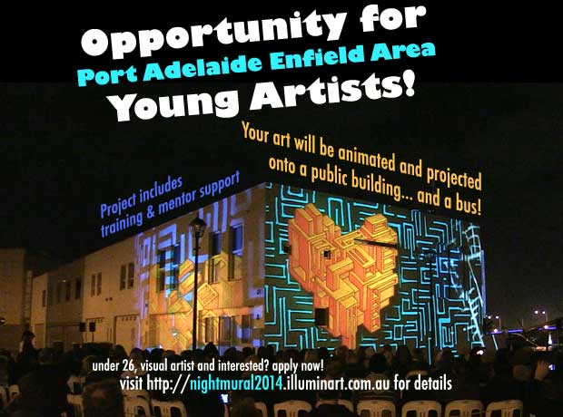 Night Mural 2014 Young Artist EOI