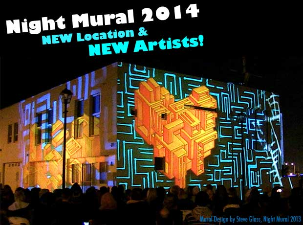 Night Mural Flyer