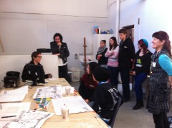 Night Mural workshop, Port Adelaide