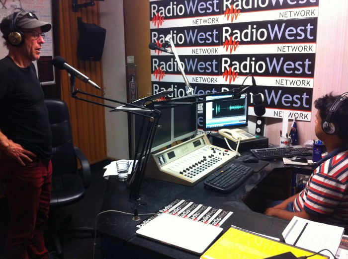 Jon Doust and Terry Siva at Radio West