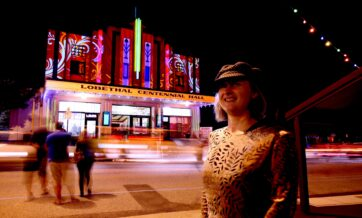 Cindi at Lights of Lobethal 2009