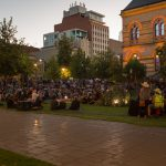 The audience at the Sunset Ceremony opening Adelaide Fringe 2016