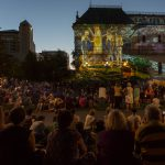 A great turn out to see Fringe Illuminations 2016