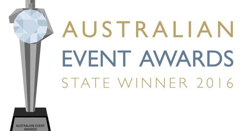 State Winner Logo Australian Event Awards
