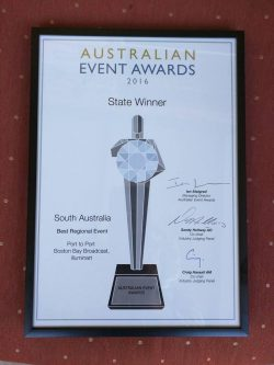 Australian Event Awards State Winner