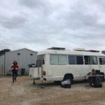 Minlaton Travelling Light - Setting up