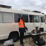 Minlaton Travelling Light - Setting up 2