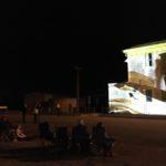 Minlaton Travelling Light - Audience sitting near Town Hall