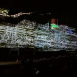 HMAS Whyalla with Projection