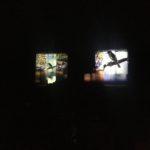 Elliston Silos at night
