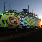 HMAS Whyalla at Sunset