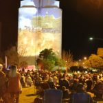 Port Pirie Travelling Light - the gathered crowd