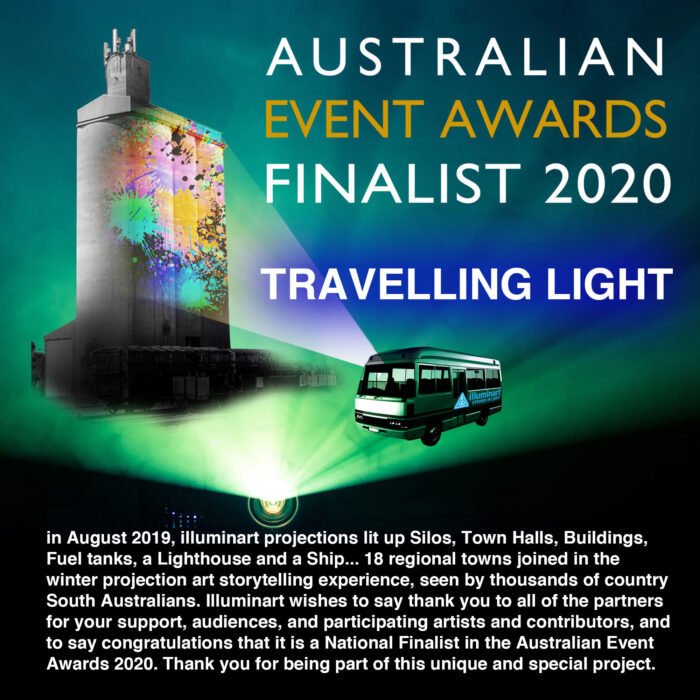 Thank you to everyone for your support. We are proud to announce that the project is a national finalist in the Australian Event Awards 2020.